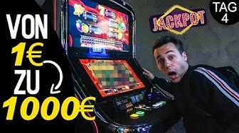 Schnell Geld machen im Casino? Von 1€ zu 1000€ (Tag 4) | Max und Chris