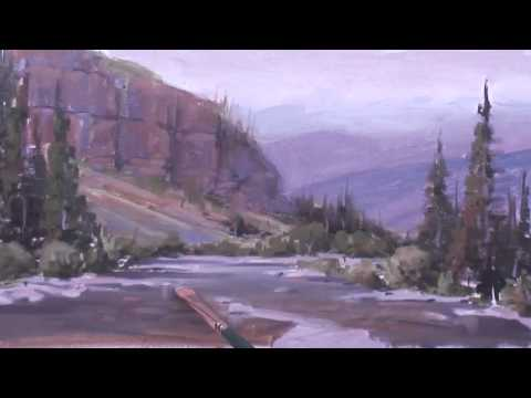Painting Rocks Under Water, part 3