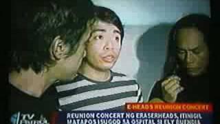 Eraserheads Reunion Concert 2008 cut short