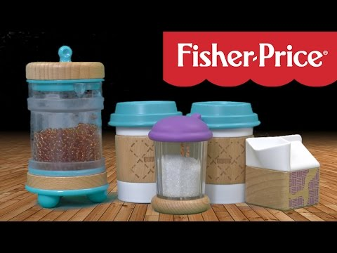 Fisher-Price Wooden Toys Early Bird Barista Set From Fisher-Price
