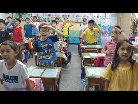 美麗老師團康教學:可愛搖滾版--謝謝老師(教師節歌曲) - YouTube