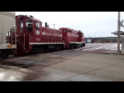 Railfanning Sioux Falls, South Dakota! Catching an Ellis & Eastern GP10 and SW900