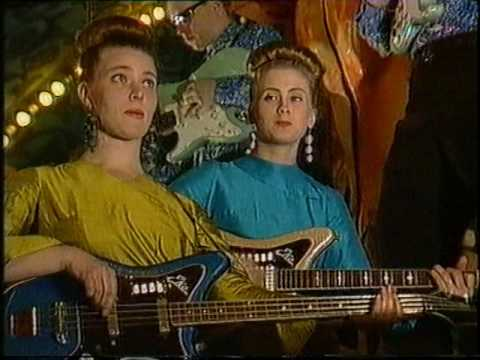 Laika & the Cosmonauts Surfs you right video 1989