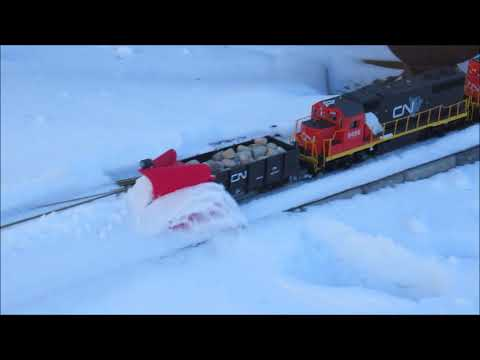 Aikenknees Railway #58 - Snow Plow Extra January 14 2018