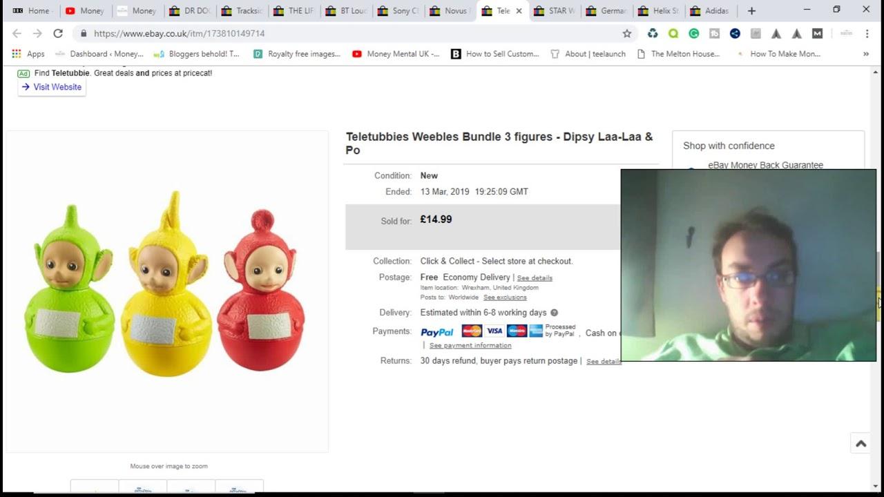 Ebay Sales Update 17 Ebay Uk Reseller Youtube