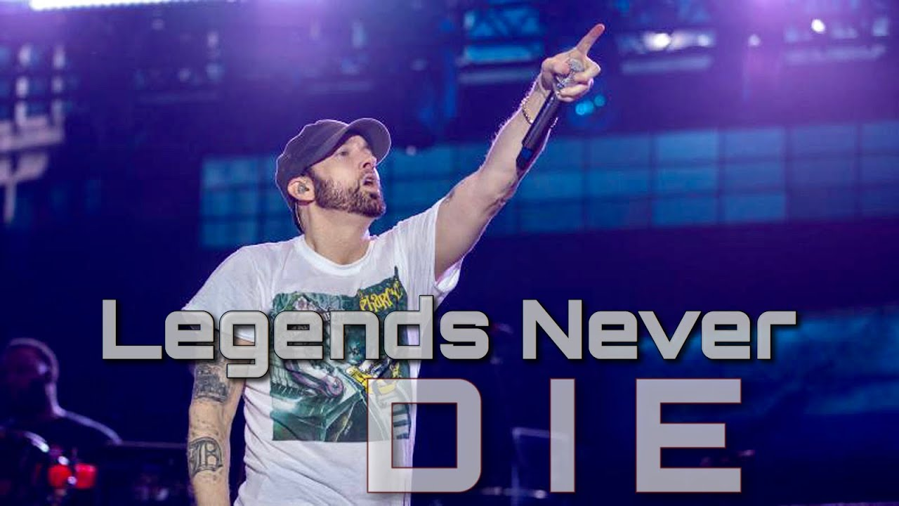 Download Legends Never Die   Eminem Video Edit