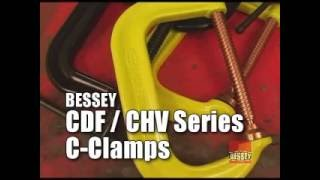 BESSEY® C-Clamps -  CDF/CHV