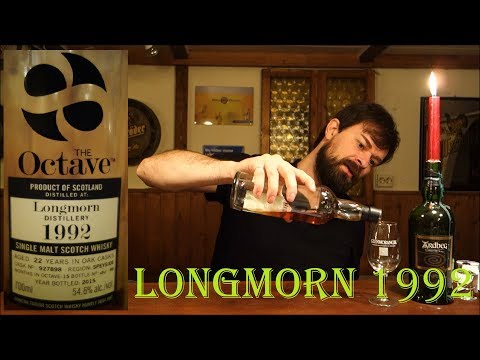 Longmorn 1992/2015 The Octave - Duncan Taylor (Whisky Verkostung Nr.350)