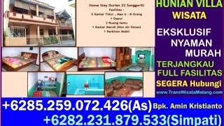 Villa Songgoriti Murah, Villa Puncak, Homestay In Indonesia, +6282 231 879 533