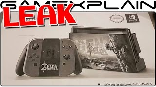 Hori Switch Accessories Leaked - Zelda Launch Decals, LAN Adapter, Fight Stick & More Revealed