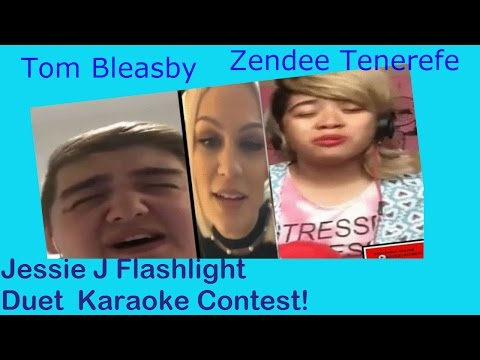 JessieJVEVO  -Tom B &  Zendee R Duet- Jessie J - Flashlight-  from Pitch Perfect 2 - JessieJVEVO