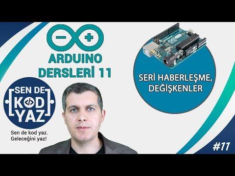 11- Arduino Serial Monitor Kullanımı Ve Serial Begin Print Println, Arduino Dersleri