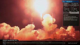 Une fusée SpaceX a décollé cette nuit pour la Lune, avec à son bord, la première sonde israélienne