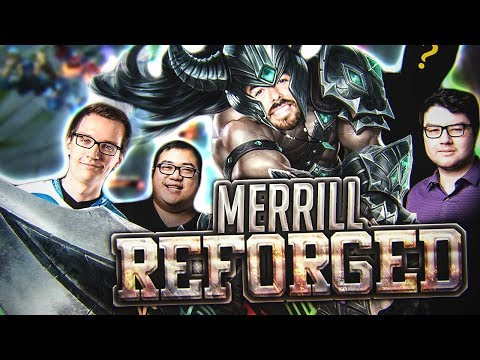 Scarra - MERRILL REFORGED (New Preseason Runes) ft. Marc Merrill, Dyrus and Meteos