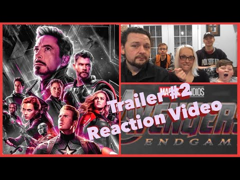 Avengers: End Game Trailer Reaction Video!!!