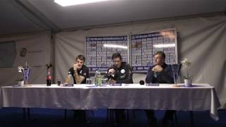 Pressekonferenz nach dem Spiel des FSV Wacker 90 Nordhausen gegen den FC Oberlausitz Neugersdorf