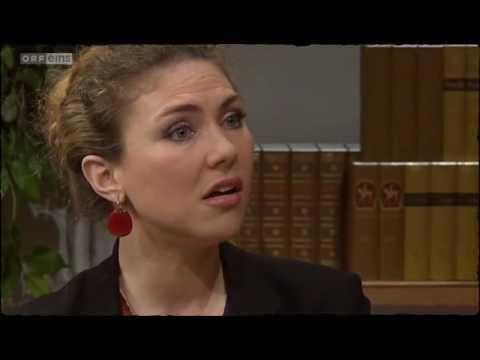 Annette Dasch - Einführung in die Stimmbildung in 'Willkommen Österreich' (2013.03.05)