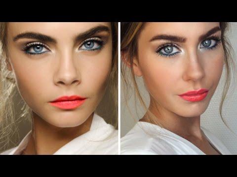 Cara Delevingne inspired Make-up Tutorial | BELLA