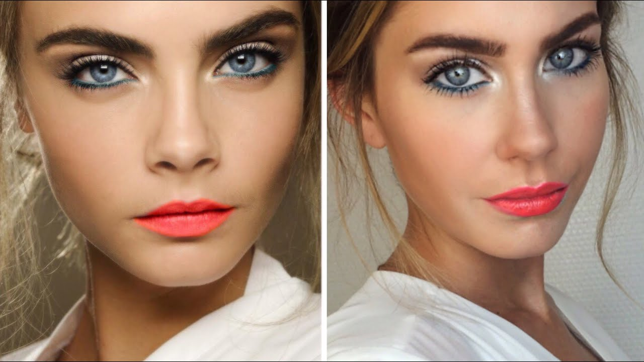 Cara Delevingne Inspired Make Tutorial Bella