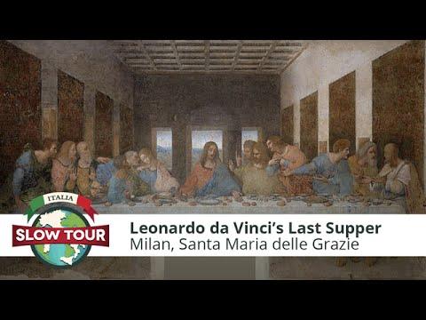 Milan: Leonardo Da Vinci's Last Supper   Italia Slow Tour