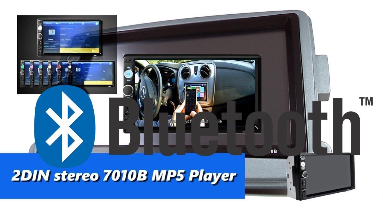 7010B MP5 Player - how to play music via Bluetooth