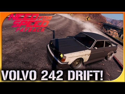 NUEVO RECORD DRIFT! VOLVO 242!! BRUTAL | NEED FOR SPEED PAYBACK #55 | DEWRON