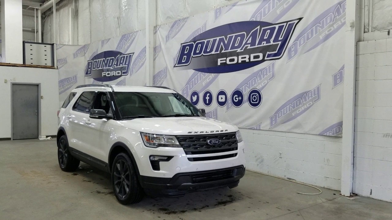 2019 ford explorer xlt 202a w 2 3l ecoboost remote start overview boundary ford