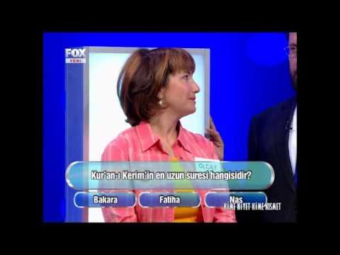 FOX TV KİME NİYET KİME KISMET YARIŞMASI -ÖMER KARACA