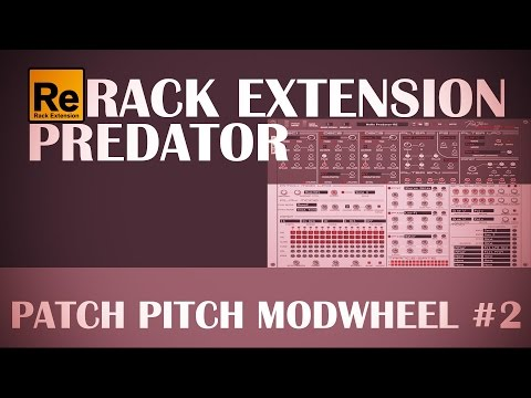 Rack Extension Predator: Patch Pitch ModWheel #2