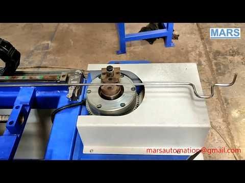 3D CNC Wire Bending Machine - Straight Cut to Length Wire