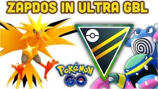 Shiny Legacy Zapdos in Ultra GO Battle League for Pokemon GO | Bad idea