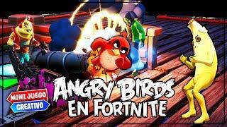 *ANGRY BIRDS* EN FORTNITE  (MINIJUEGO CREATIVO)