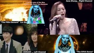 "Fantastic DUO # 2 / Dimash Kudaibergen & Jane Zhang ""The Diva Dance"" (from the Fifth Element)"