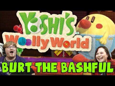 YOSHI'S WOOLLY WORLD! Burt the Bashful (Jingle Jam Livestream 2015)