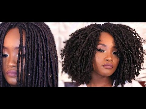 Unravelling And Styling My Faux Locs Kemiixo Youtube