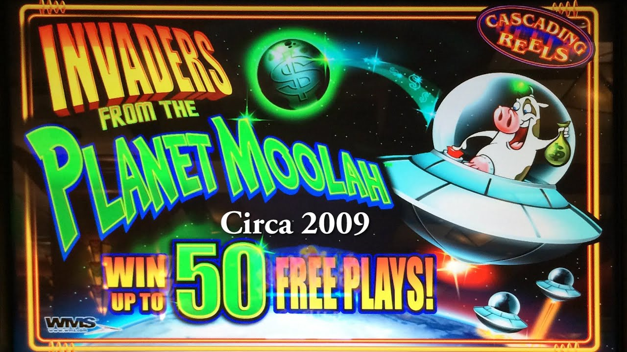 invaders from the planet moolah slot machine