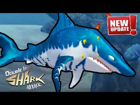 Double Head Shark Attack -NEW UPDATE - NEW SHARK MEGA MAX  & All Sharks Unlocked