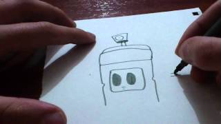 Drawing a spraycan - KAB