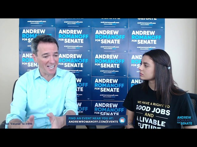 Green New Deal Virtual Town Hall w/ the Sunrise Movement