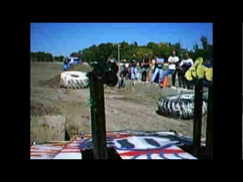 Black hills speedway 2009 demolition derby in car cam.mpg