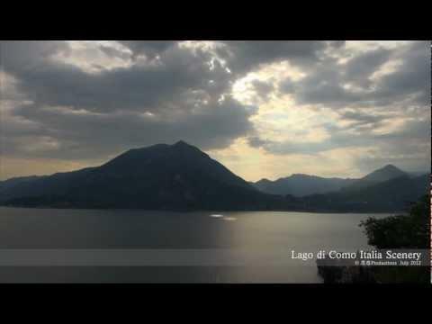 Lago di Como Timelapse, Italia  コモ湖 イタリア