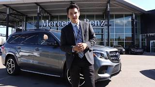 2018 Mercedes-Benz GLS 550 4MATIC | Modern Design. Premium Luxury | Get Yours Today!