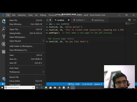 How To Add Multiple Pages In Jspdf | Jspdf Tutorial | Html To Pdf