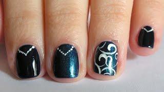 Nail Art - Tutorial 201 - Blue&Violet Powder con Born Pretty Store