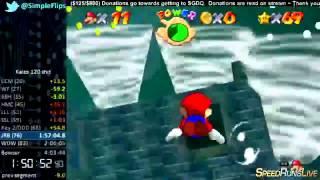 """Kaizo Mario 64 120 Star Speedrun """"World Record"""" in 3:36:24"""