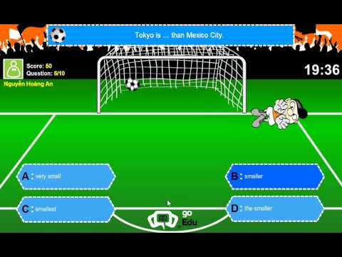 Ioe English Exam - Defeat the goalkeeper(Part1)