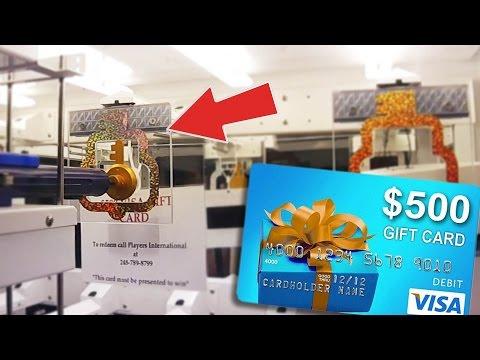 $500 VISA GIFT CARD KEYMASTER WIN!! | Arcade Games