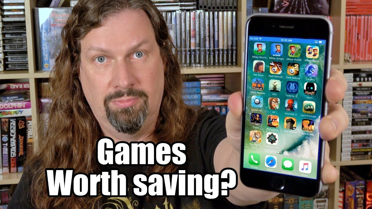 Apple killed these iPhone Games - SO I ARCHIVED them forever!