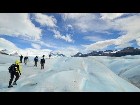 Walking on the Perito Moreno Glacier