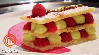 French Dessert Mille-Feuille | MasterChef Canada | MasterChef World